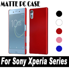 Buy Ultra thin Protective Matte Hard Plastic Sony Xperia L1 X XA XA1 XZ XZs Ultra Performance Premium 2017 PC Back Cover Case for $1.23 in AliExpress store