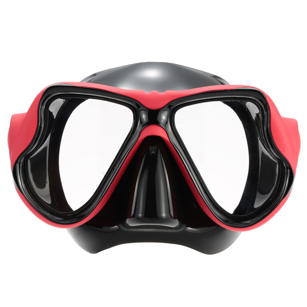 Professional Scuba Diving Mask For Adult Tempered Silicone Strap Swimming Mask Frame+PC Diving Mask Tempered Glass Goggles(China (Mainland))