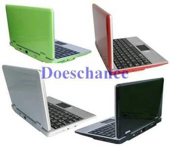 Hot sale-7 inch Mini cheap Netbook VIA 8505 WIFI 2GB HD-Free Shipping