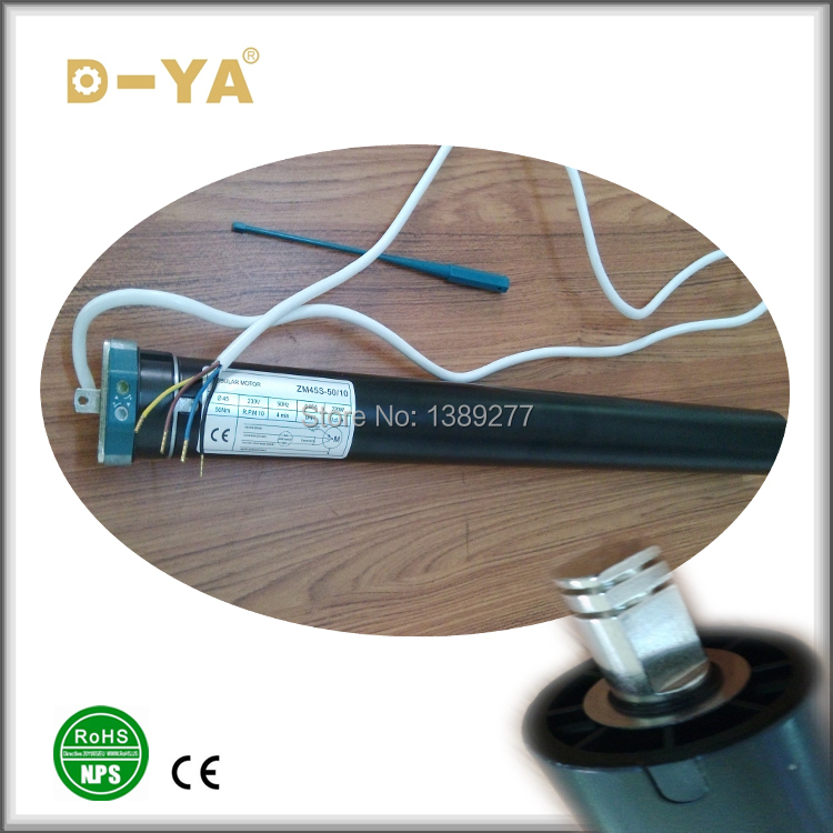 2015 45mm 50nm Standard Tubular Motor for Roller Shutter, Awning, Sunshade, Blinds, Curtain, Garage Door And Projection Screen.(China (Mainland))