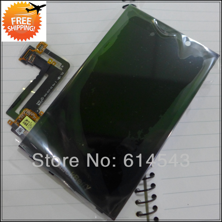 100% original For Blackberry Z10 LCD Display+Touch Screen digitizer+frame assembly VER 001/111 15 pin,black,Free Ship 5pcs/lot(China (Mainland))