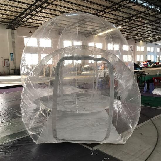 1 & Wholesale Outdoor Transparent Inflatable Bubble Tent Clear Camping ...