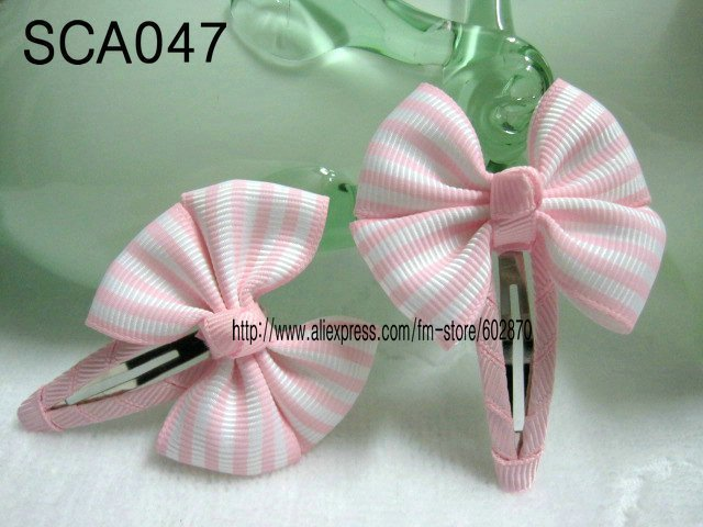 Free shipping 12pcs/lost  (72 designs) kid's hair accessories baby snap clip children's hairclip kid's hair bows