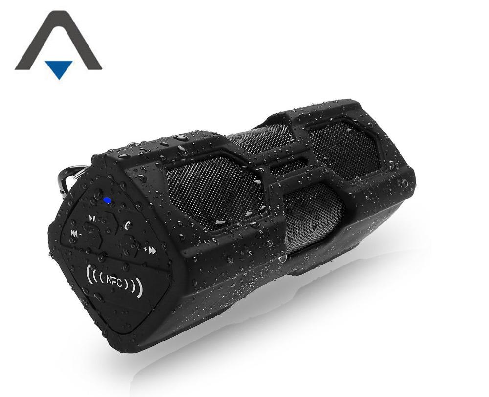 Гаджет  Mobiecube Boom Box Wireless Bluetooth Speaker 5200MAh battery NFC Handsfree Subwoofer Sound Box Portable Music Player Power Bank None Бытовая электроника