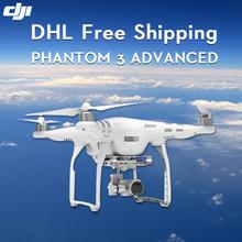 DJI Phantom 3 Advanced Drone with camera hd 2.7K/4K remote control built-in GPS Aerial Photography fpv uav Rc Plane
