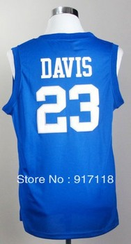 Free Shipping,#23 Anthony Davis College Basketball Jersey,Embroidery logos,Size S--3XL,Accept Mix Order