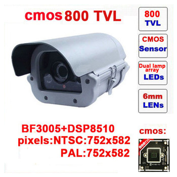 Free shipping limited security camera system cmos 800 tvl dual lamps array infrared camera outdoor waterproof cctv security z60c(China (Mainland))