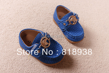Free Shipping 2013Hot Top Quality New Leather Baby Shoes Comfortable Leather Shoes Wholesale And Retail Blue(China (Mainland))
