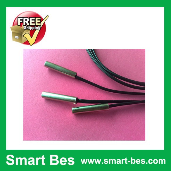~ 5 Smart bes 10k 1% 3435 Nickel plated copper shell 5* 25 mm NTC temperature sensor,length 600mm - Shenzhen S-Mart Electronics Co., Ltd~ 24hour fast shipping~ store