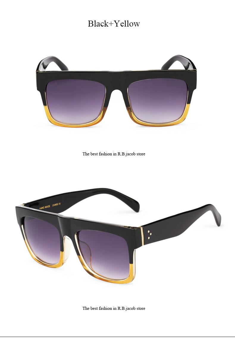 Square Celebrity Italy Brand Designer famous Kim Kardashian Sunglasses Lady UV400 Women Men Sun Glasses 50S Female Hot