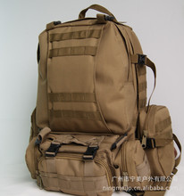 Free Shipping Military backpack bag Outdoor Sport Military Backpack Camping Hiking Trekking Bag  100pcs/lot(China (Mainland))