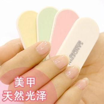 2012 Hot Sale Mini Cute Nail File,Four Uses Nail Buffer,Nail Care tools,Free Shipping