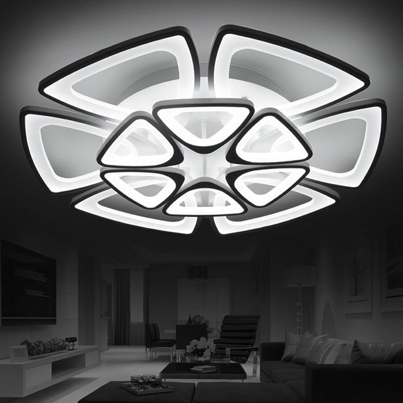 Modern led ceiling lights for living room bedroom AC 90-260V Home Decorative Modern LED Ceiling lamp Free Shipping(China (Mainland))