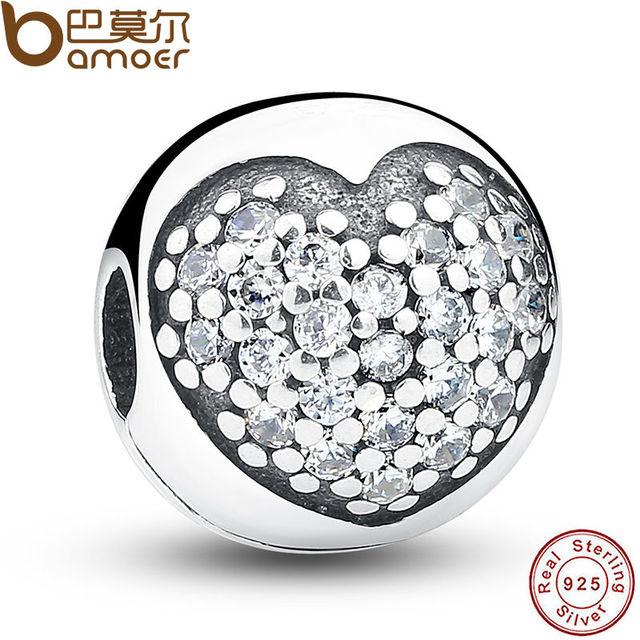 Сердце Подарок На День Рождения 100% Стерлингового Серебра 925 Любовь Моя жизнь Клип ...