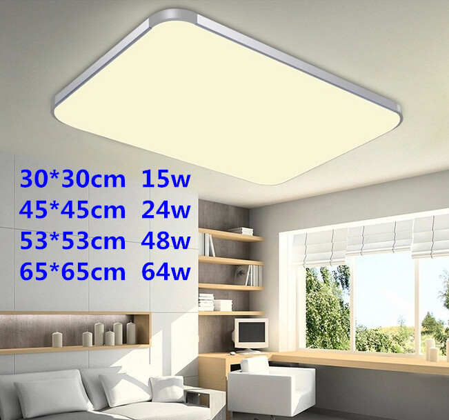 light ultra thin led ceiling light modern living room dining room led