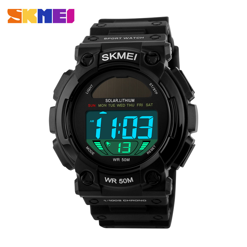 2016 New Simple Brand Men Military Sports Fashion Casual Watches Digital LED Wristwatches Rubber Strap Relogio Masculino  SKMEI <br><br>Aliexpress