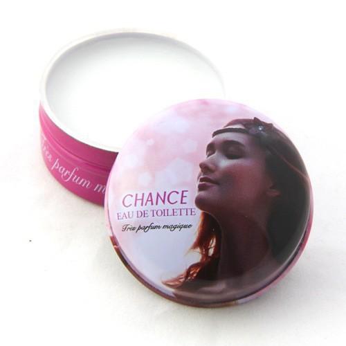Pink chance perfumes 100 original women fragrance Solid Perfume choice of the perfect lady 2015 15g Brand original perfume women(China (Mainland))