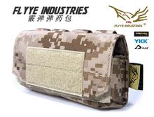 Free shipping In stock FLYYE genuine MOLLE Shotgun ammunition Shells Pouch Military camping modular combat CORDURA PH-O001
