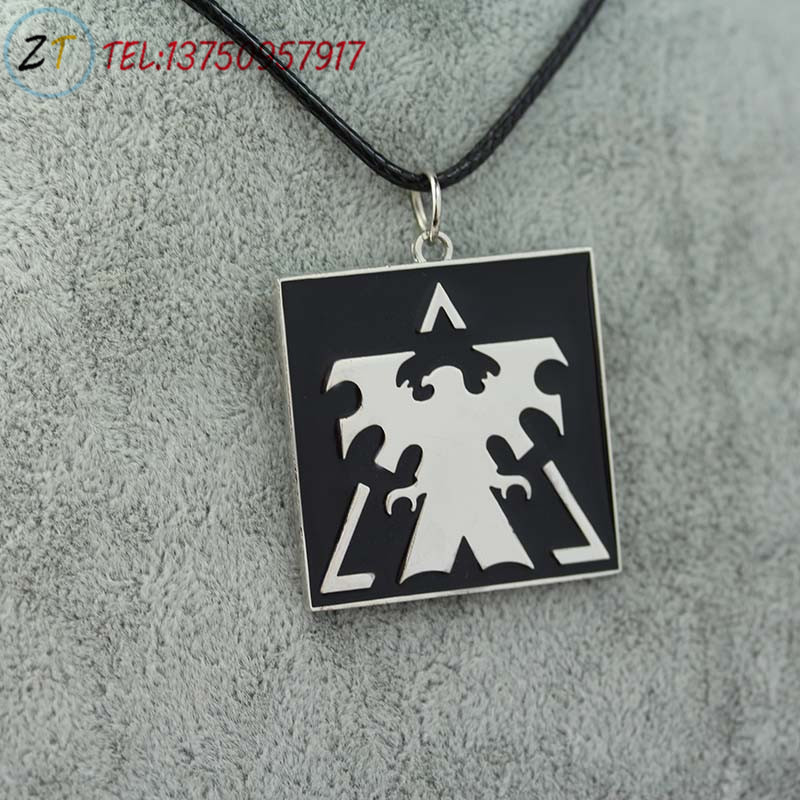 StarCraft Necklace Wings of Liberty Terran necklace Cartoon Movie necklace Pendant 1PC(China (Mainland))