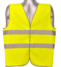 2 bands high visibility reflective safety vest(China (Mainland))