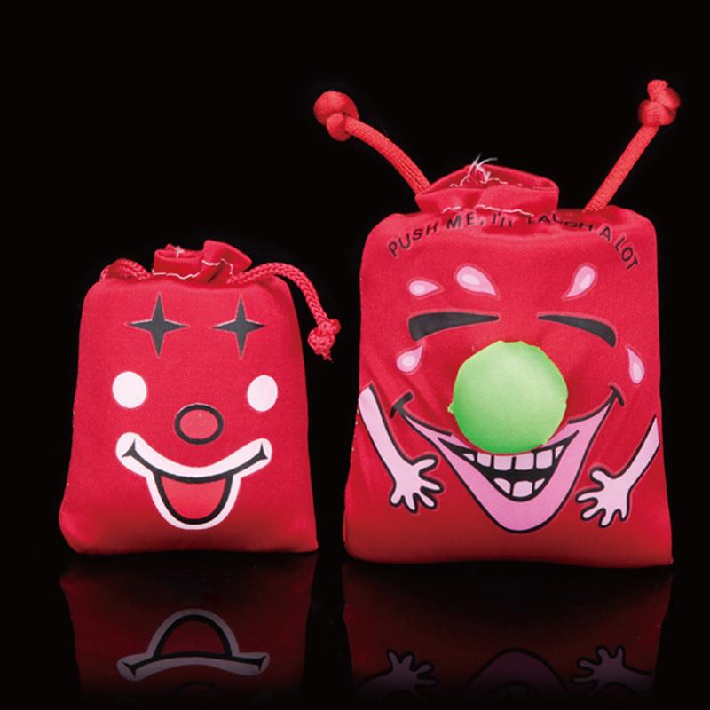 Free shipping 1pc Ha Ha Laughing Bag Push me I Will Laugh A Lot Gag Gift Prank Joke Funny Novelty Toy FM0975(China (Mainland))