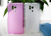 Super Flexible Clear TPU Case For HUAWEI HONOR 3 HN3-U01 case Slim Crystal Phone Cove Silicone Case original