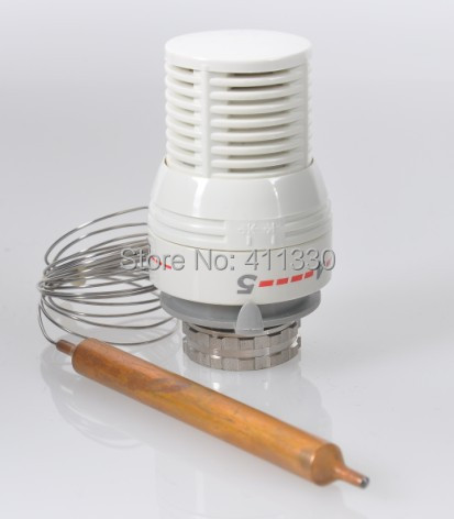 M30*1.5mm Water System Thermostatic Liquid Sensor Head With Capillary<br><br>Aliexpress