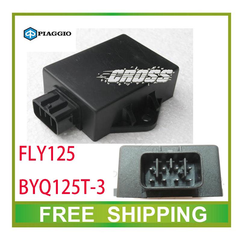 ZONGSHEN PIAGGIO CDI BOX 125CC GY6 SCOOTER FLY125/BYQ125T-3 cdi box accessories free shipping(China (Mainland))