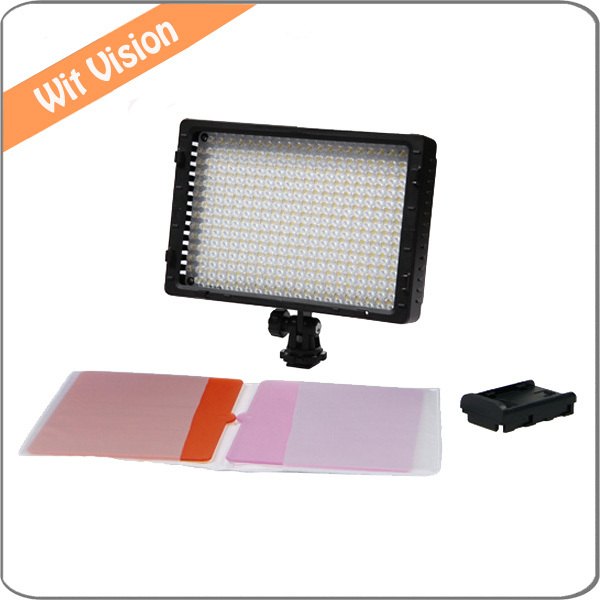 Pro LED Video Light Camera Camcorder Lamp Adjustable for Canon Nikon High CRI Dimmable LED Panel<br><br>Aliexpress