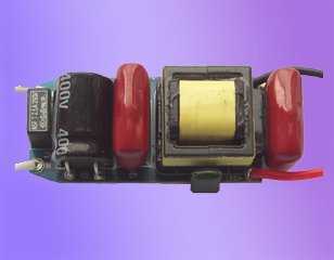 LED triac dimmable constant current driver(PAR30);AC110/220V input;3*3W/640ma output;size:40*20*18mm;P/N:AT2430