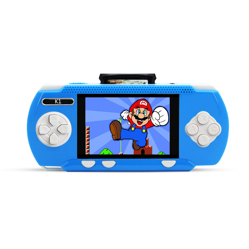 JXD New Arrival 3.2 Inch Kid Classic Game Console Kid Rechargeable Battery Gamepad Wholesale Children Tablet K1(China (Mainland))