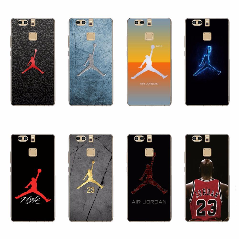 Fashion Michael Jordan 23 Chicago Soft TPU Silicone Phone Case Cover for Huawei P7 P8 P9 LITE Plus Air Jordan Cases Skin Fundas(China (Mainland))