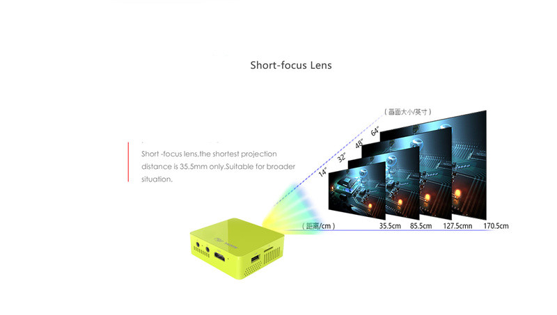 Full HD Projector LED Lamp LCD  Home Cinema Theater  mini portable projector HDMI VIDEO VGA TV USB projector projector hdmi