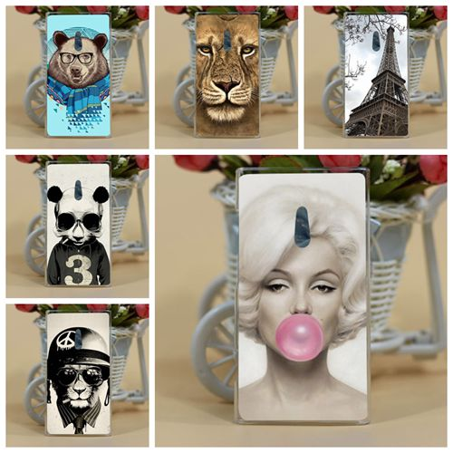 For Nokia 800 Case Cover,Fashion New ARRIVAL Diy Colored Tiger Owl Flowers Hard PC Case Cover For Nokia Lumia 800 n800 Cases(China (Mainland))