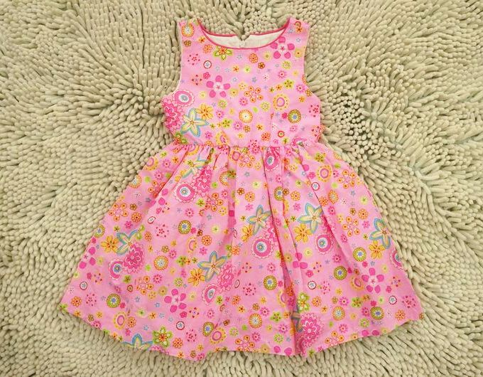 European and American brands BONNI BABY, 2014 new summer girls dress, sweet style cotton dress.(China (Mainland))