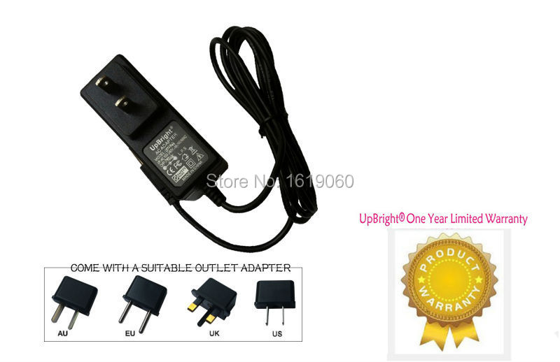 UpBright NEW AC / DC Adapter For Netgear Westell 7550 AT&T DSL Modem/Router Power Supply Cord Cable PS Wall Home Charger Mains(China (Mainland))