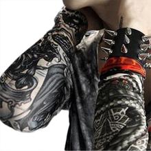 Cool men's Temporary Fake Slip On Tattoo Arm Warmers Summer Sleeves Kit 6 Pcs  (China (Mainland))