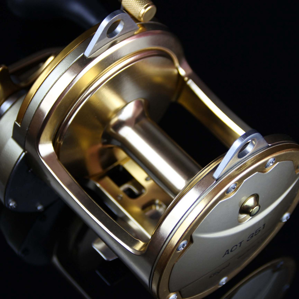 30kg Power Act351 Full Metal Trolling Fishing Reels Saltwater Baitcasting For Sea Fishing 3BB+1RB Boat Drum Jig Reel Peche Wheel  (6)