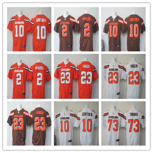 ABC100% Stitiched,Cleveland Browns,Johnny Manziel,Joe Haden,Joe Thomas,Robert Griffin III(China (Mainland))