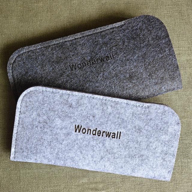 Легкий портативный шерсть feltbags очки сумка для очков для женщин мужчин B2