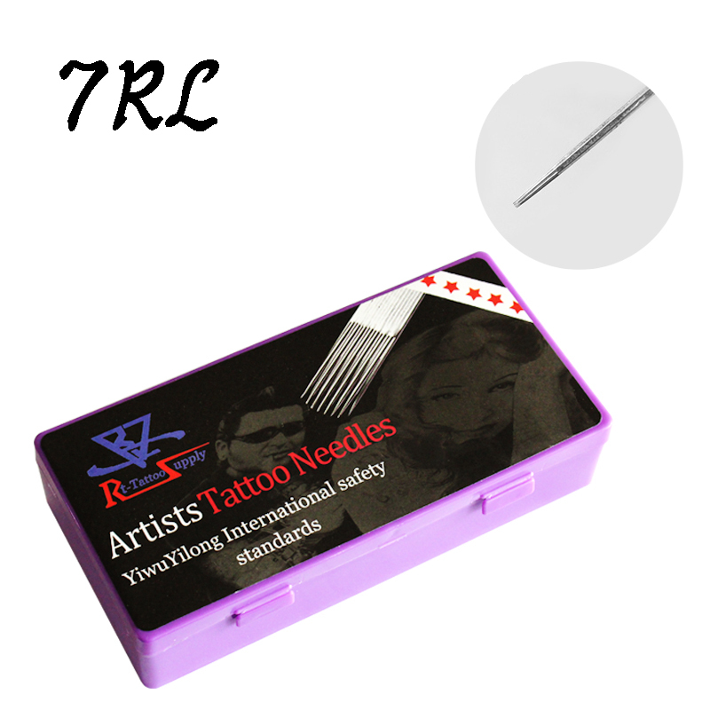 2015 New 7RL Artists tattoo needles Round Liner/ Shader/Magnum for tattoo machine High quality tattoo needles(China (Mainland))