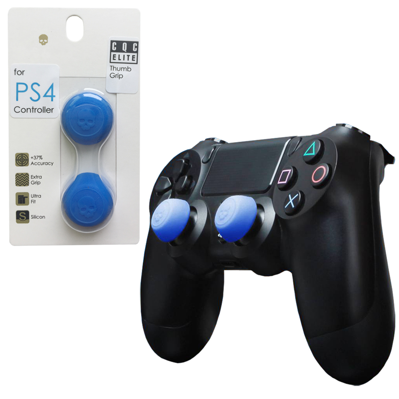 Skull&Co 2 Pairs Silicone Controller Analog Grips CQC Thumbstick Cover PS4/PS3 Thumb Stick Cap Game Accessories - Play Store store