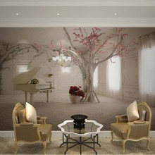 Custom 3d mural wall paper TV backdrop sofa three-dimensional space to expand 3d photo wallpaper for walls 3 d contact paper(China (Mainland))