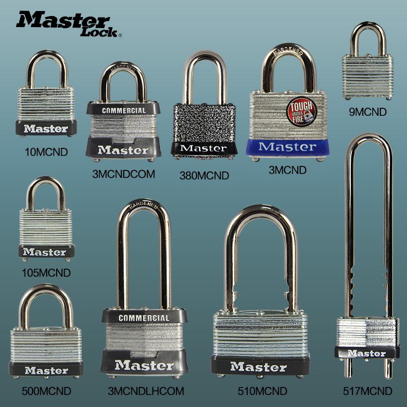 US Master Lock Melaleuca lock skillet dormitory door lock padlock security tamper warehouse waterproof genuine(China (Mainland))