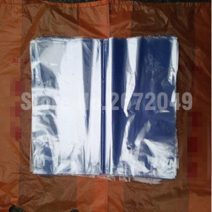 Pvc heat shrink bags/ Clear Membrane Plastic Cosmetic Packaging bags/ plastic shrinkable pouch(China (Mainland))