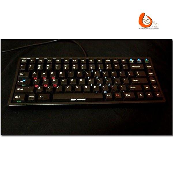 100% Original Genuine Noppoo Choc Mini 84 German Cherry Black Axis Wired USB Mechanical PC Keyboard Free Shipping(China (Mainland))