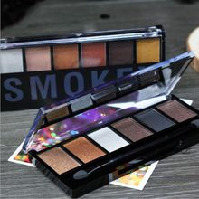 Sugar Box 6 Colors Eyeshadow Palette Glamorous Smokey Eye Shadow Makeup Make up Kit