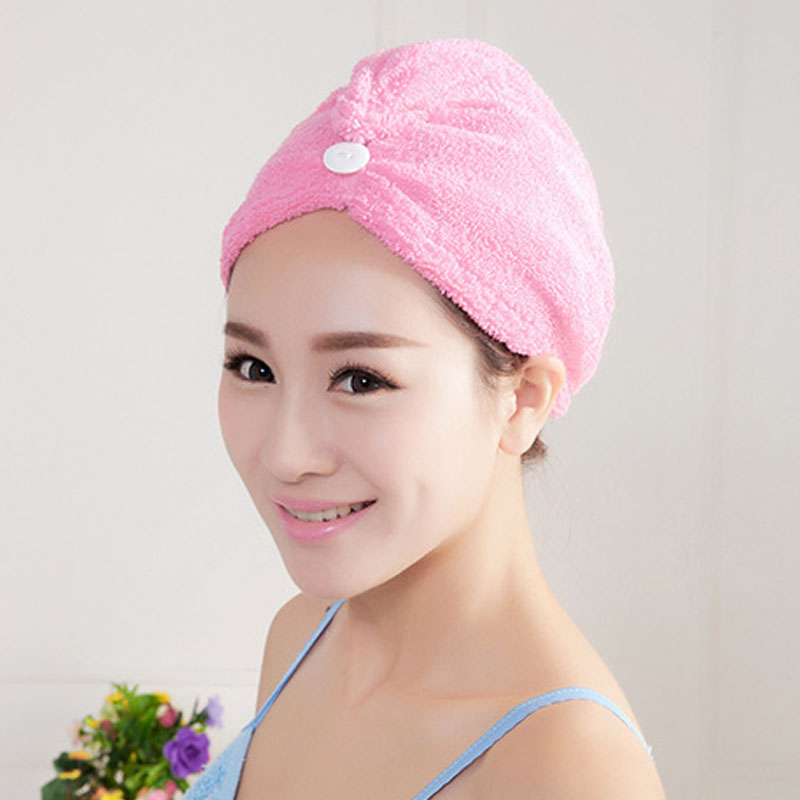 1Pcs Quick-Dry Hair Towel Magic Hair-drying Ponytail Holder Cap Towel for Lady Microfiber Hair Towel(China (Mainland))