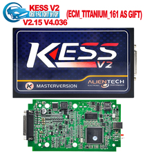 Highest quality KESS V2  V2.15 2015 Newest OBD2 Tuning Kit NoToken Limit Kess V2 Master FW V4.036 Master version free ship(China (Mainland))
