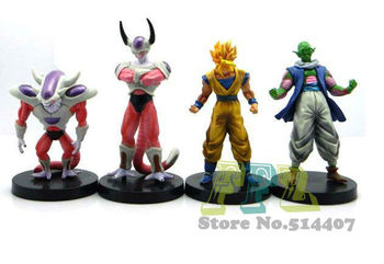 Free shipping New Dragon Ball Freezer Model  Freeza   Piccolo  Goku Figure Action Toy DL005